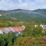 Matsuo Mine - School and Rainbow