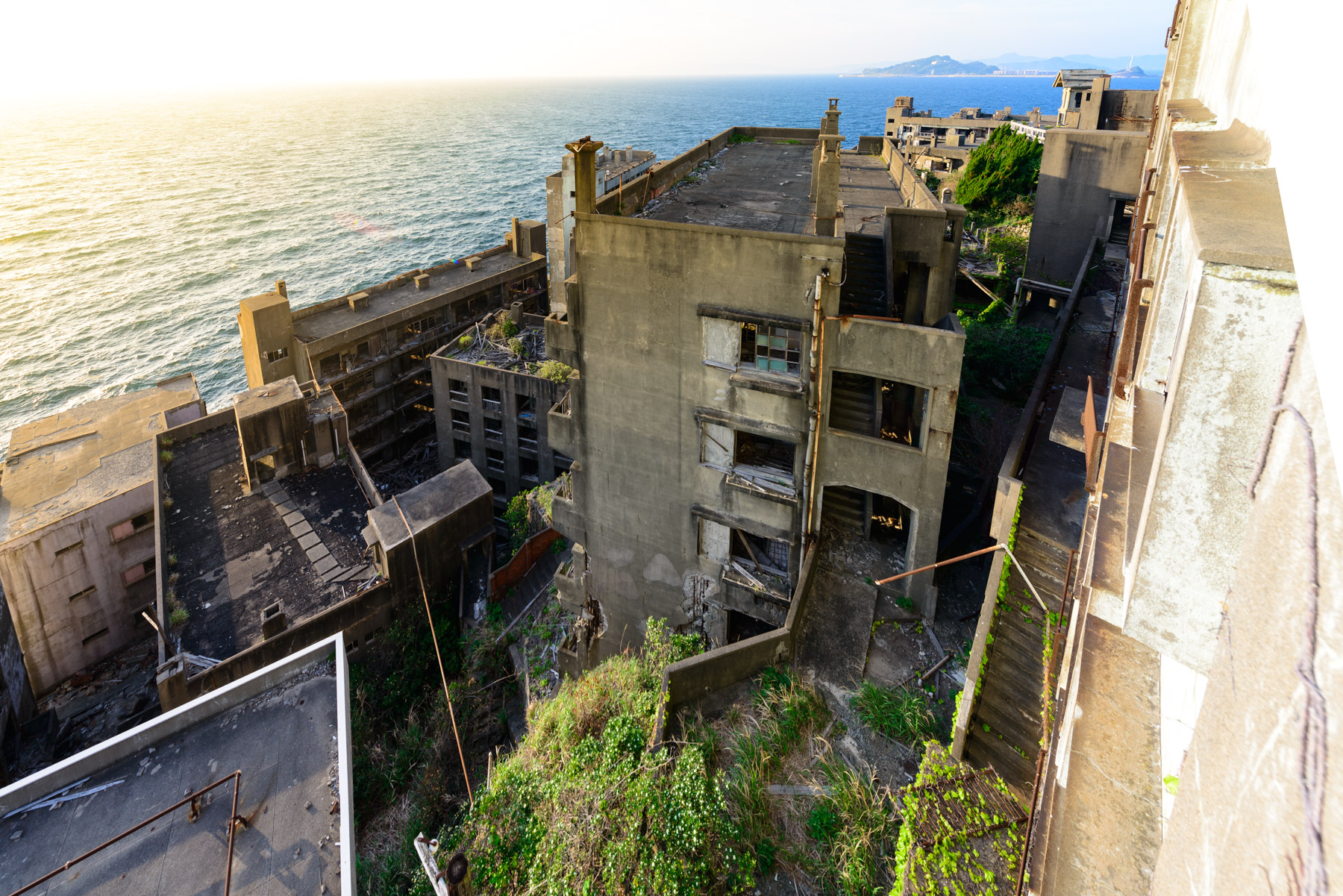 abandoned, apartment, asia, gunkanjima, haikyo, japan, japanese, kyushu, nagasaki, ruin, urban exploration, urbex
