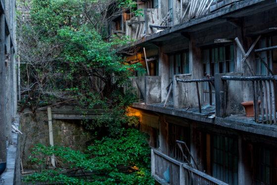abandoned, apartment, asia, gunkanjima, haikyo, japan, japanese, kyushu, nagasaki, ruin, urban exploration, urbex
