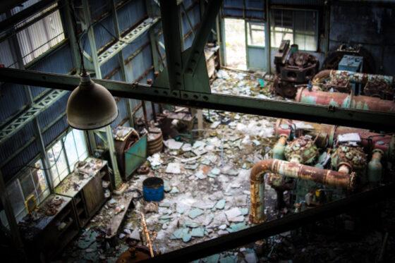 abandoned, asia, factory, haikyo, japan, japanese, mine, ruin, urban exploration, urbex